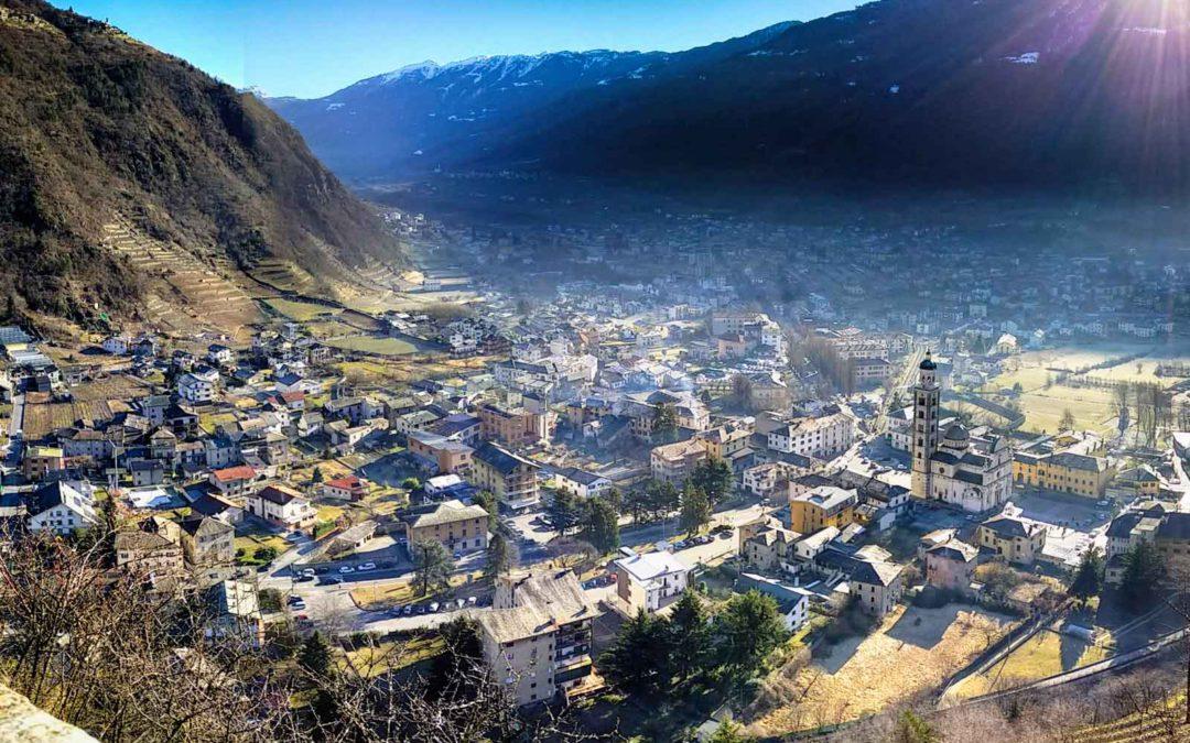 Visitare Tirano, patria del Trenino Rosso del Bernina