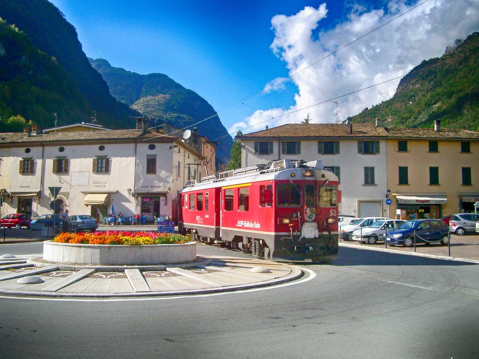 Trenino Rosso del Bernina- Tirano
