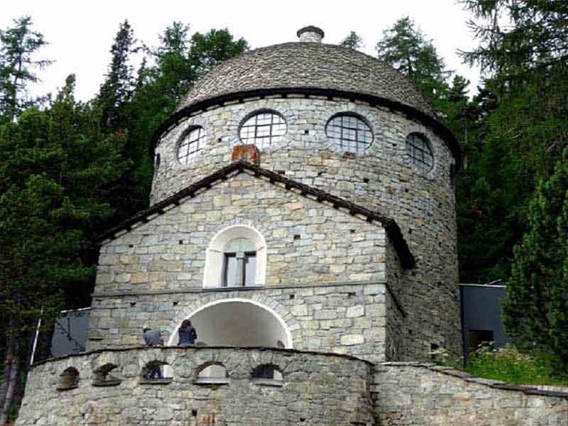 St. Moritz- Museo Segantini