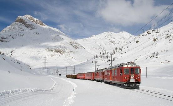 St. Moritz, il capolinea del Trenino del Bernina