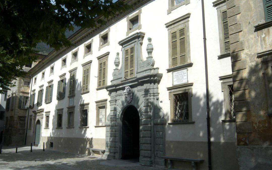 Palazzo Salis a Tirano, il più importante in provincia di Sondrio