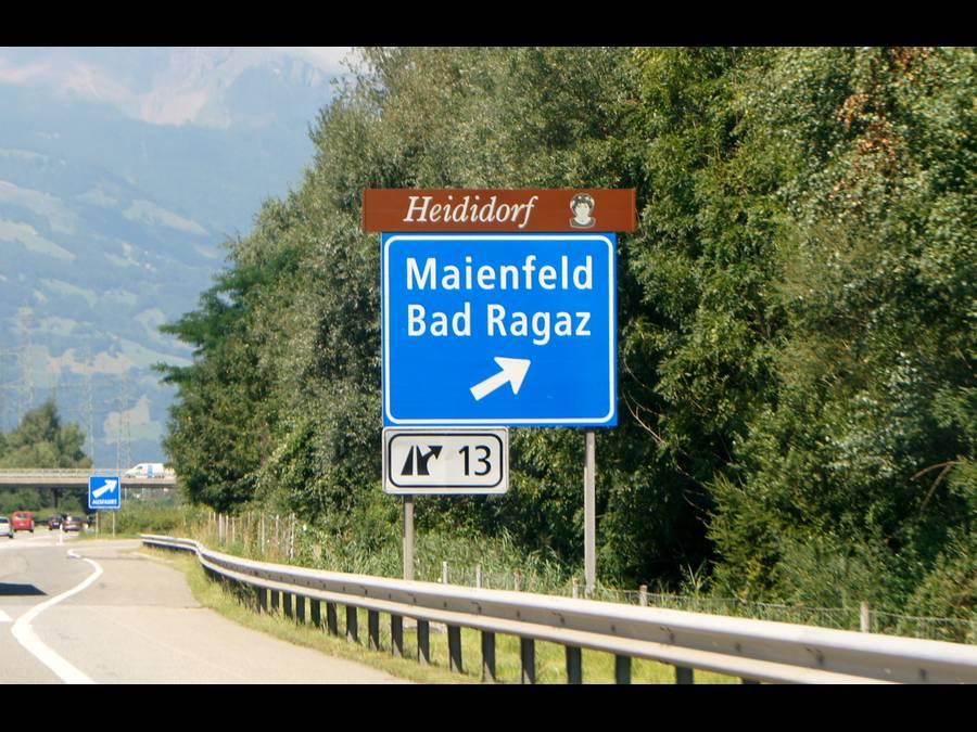 Maienfeld- Casa di Heidi