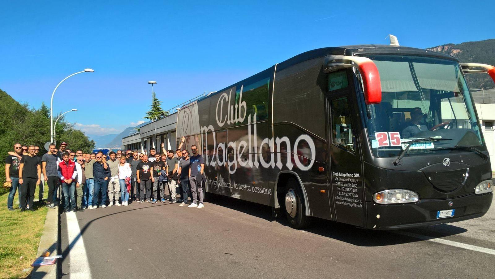 Noleggio pullman-Club Magellano