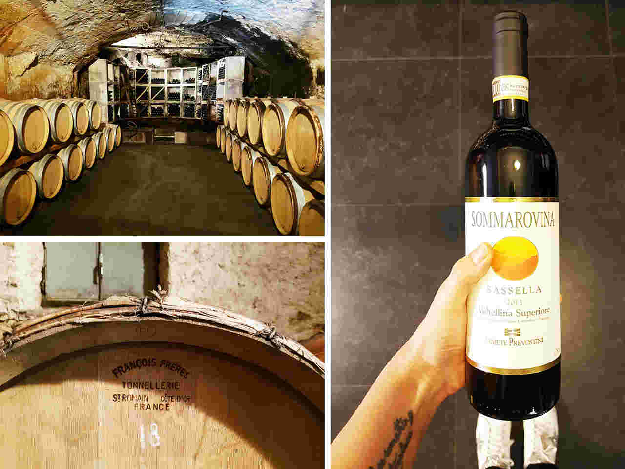 Sagra dei crotti in Valtellina-vino